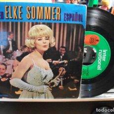 Discos de vinilo: ELKE SOMMER CANTA EN ESPAÑOL. 4 TEMAS EP SPAIN 1965 PEPETO TOP . Lote 107432715