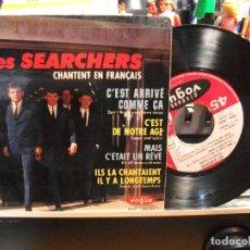 Discos de vinilo: LES SEARCHERS NO ME DEJES / POR ESE AMOR EP FRANCIA 1964 PEPETO TOP . Lote 107433831
