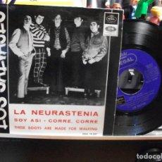 Discos de vinilo: LOS SALVAJES LA NEURASTENIA / SOY ASI EP SPAIN 1966 PEPETO TOP . Lote 107434267