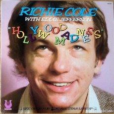Discos de vinilo: RICHIE COLE WITH EDDIE JEFFERSON : HOLLYWOOD MADNESS [USA 1980]. Lote 107436387