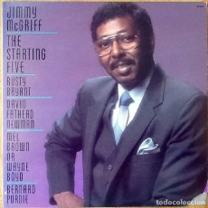 Discos de vinilo: JIMMY MCGRIFF : THE STARTING FIVE [USA 1987]. Lote 107440767