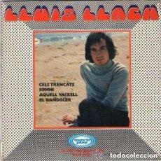 Discos de vinilo: LLUÍS LLACH - CELS TRENCATS - EP MOVIEPLAY 1970 . Lote 107447683
