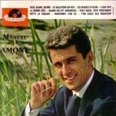 Discos de vinilo: MARCEL AMONT - DISCO 10 PULGADAS, POLYDOR 45 573, FRANCE . Lote 107447955