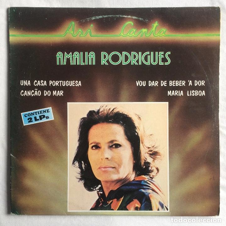 AMALIA RODRIGUES – ASÍ CANTA (Música - Discos - LP Vinilo - Country y Folk)
