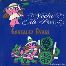 Discos de vinilo: NOCHE DE PAZ *** DISCO OBSEQUIO NAVIDAD AÑO 1975 *** BODEGAS GONZALEZ BYASS. Lote 107451519
