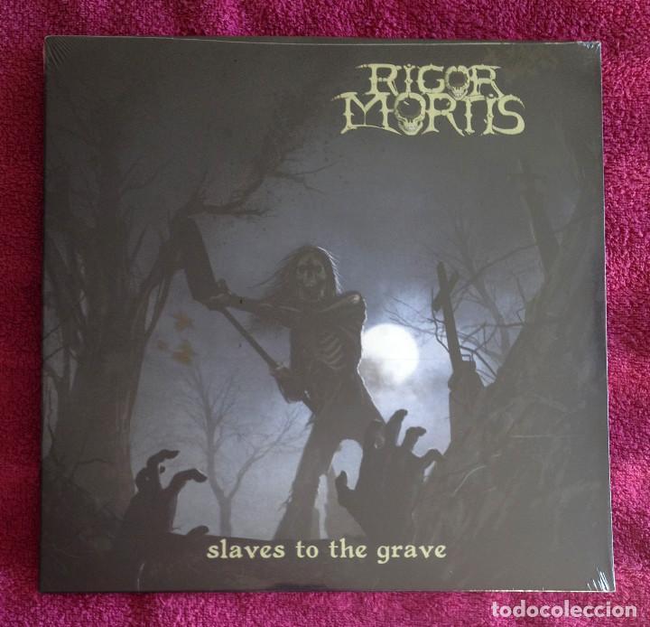 Rigor mortis - slaves to the grave 12'' lp prec - Sold