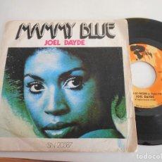 Discos de vinilo: JOEL DAYDE-SINGLE MAMMY BLUE. Lote 107477811