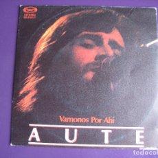 Discos de vinilo: LUIS EDUARDO AUTE SG MOVIEPLAY 1982 VAMONOS POR AHI/ VAILIMA . Lote 107480779