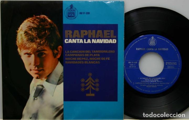 RAPHAEL CANTA LA NAVIDAD-EP HISPAVOX 1965 (Música - Discos - Singles Vinilo - Solistas Españoles de los 50 y 60)