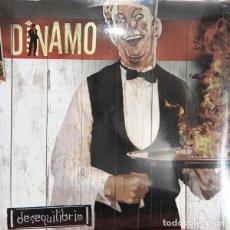Discos de vinilo: DINAMO DESEQUILIBRIO LP+CD . SKA REGGAE SKA-P PUNK POTATO SKATALA. Lote 107506675