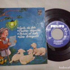 Discos de vinilo: MUSICA SINGLE: COROS DE LAS ESCUELAS AVEMARIAS - CANTA, RIE, BEBE / PASTORES CHIQUITOS... (ABLN). Lote 107508375