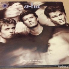 Discos de vinilo: A-HA. STAY ON THESE ROADS. EXTENDED REMIX. WB RECORDS. 1988.. Lote 107521063