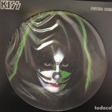 Discos de vinilo: KISS -PETER CRISS - LP PICTURE REED. Lote 107522159