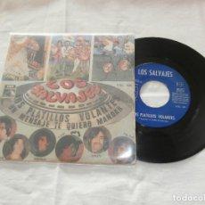 Discos de vinilo: LOS SALVAJES 7´SG LOS PLATILLOS VOLANTES + 1 (1968) RARO. Lote 107529199