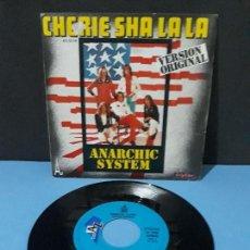 Discos de vinilo: ANARCHIC SYSTEM, CHERIE SHA LA LA Y BARBARA. Lote 107531595