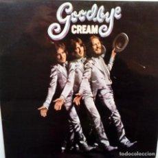 Discos de vinilo: CREAM- GOODBYE CREAM - SPAIN LP 1977- GATEFOLD- ERIC CLAPTON - VINILO COMO NUEVO.. Lote 160651338