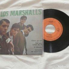 Discos de vinilo: LOS MARSHALLS 7´EP FUE POR CULPA DE EL (COVER KINKS) -1965 - GARAGE FREAK BEAT SPAIN 60´S. Lote 107558499