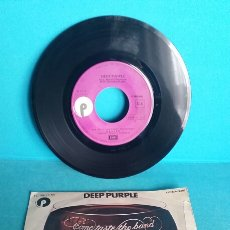 Discos de vinilo: SINGLE DEEP PURPLE COME TASTE THE BAND 45 RPM YOU KEEP ON MOVING Y DEALER. Lote 107559648