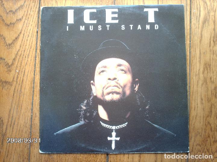 ICE T - I MUST STAND (4 VERSIONES) (Música - Discos de Vinilo - Maxi Singles - Rap / Hip Hop)