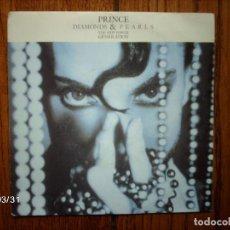 Discos de vinilo: PRINCE & THE NEW POWER GENERATION - DIAMONDS AND PEARLS + Q IN DOUBT (INSTRUMENTAL) . Lote 107576355
