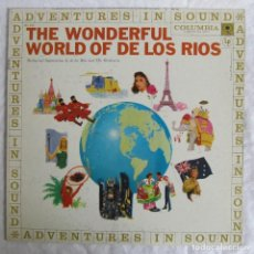 Discos de vinilo: LP DE VINILO THE WONDERFUL WORLD OF DE LOS RIOS COLUMBIA USA. Lote 107584231