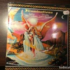 Discos de vinilo: ILLUMINATIONS. SANTANA. Lote 107588776