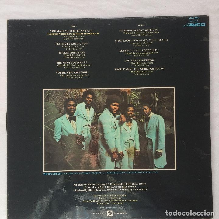 Discos de vinilo: The Stylistics /The Best Of The Stylistics 1974 uk - Foto 2 - 107595919