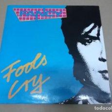 Discos de vinilo: FANCY (MX) FOOLS CRY +1 TRACK AÑO 1989. Lote 107599859