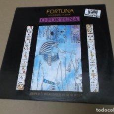 Discos de vinilo: FORTUNA FEAT. SATENIG (MX) O FORTUNA +3 TRACKS AÑO 1992. Lote 107601467