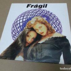 Discos de vinilo: FRAGIL (MX) SOY COMO SOY +3 TRACKS AÑO 1994. Lote 107601595