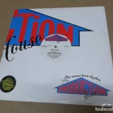 Discos de vinilo: FEEDBACK (MX) SIMPLY MAGIC +1 TRACK AÑO 1987 – EDICION U.K.. Lote 107603467