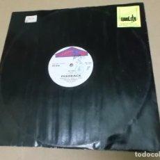 Discos de vinilo: FEEDBACK (MX) SO FINE +1 TRACK AÑO 1987. Lote 107603579