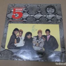 Discos de vinilo: FIVE STAR (MX) CAN'T WAIT ANOTHER MINUTE +2 TRACKS AÑO 1986 – EDICION U.K.. Lote 107603947