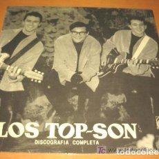 Discos de vinilo: LOS TOP SON ( BRUNO LOMAS) DISCOGRAFIA COMPLETA ALLIGATOR 1984. Lote 118310079
