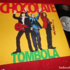 Discos de vinilo: CHOCOLATE TOMBOLA/QUE SERA? 12 MX 1994 RUMBA LOS MANOLOS. Lote 107623559