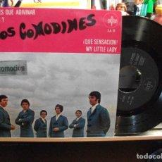Discos de vinilo: LOS COMODINES LO TIENES QUE ADIVINAR + 3 EP SPAIN 1969 PEPETO TOP . Lote 107634571