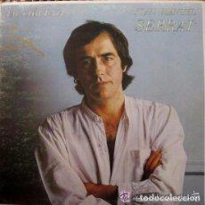 Discos de vinilo: JOAN MANUEL SERRAT. TAL COM RAJA LP SPAIN 1980 . Lote 107635203