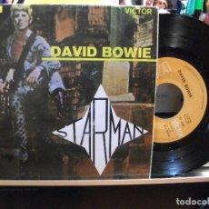 Discos de vinilo: DAVID BOWIE STARMAN + 3 EP PORTUGAL 1972 PEPETO TOP . Lote 107635283