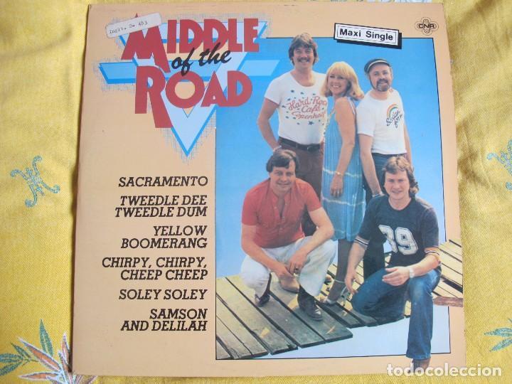 MAXI - MIDDLE OF THE ROAD - MEDLEY / POSTCARD (SPAIN, CNR RECORDS 1981) (Música - Discos de Vinilo - Maxi Singles - Pop - Rock Extranjero de los 70)