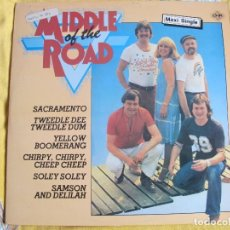 Discos de vinilo: MAXI - MIDDLE OF THE ROAD - MEDLEY / POSTCARD (SPAIN, CNR RECORDS 1981). Lote 107644383