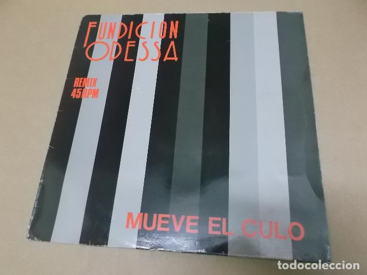 FUNDICION ODESSA (MX) MUEVE EL CULO +2 TRACKS AÑO 1988 (Música - Discos de Vinilo - Maxi Singles - Grupos Españoles de los 70 y 80)