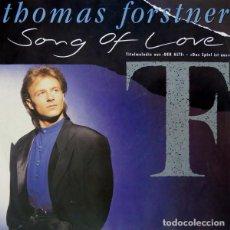 Discos de vinilo: AUSTRIA 1989. NUR EIN LIED - THOMAS FORSTNER (VERSIÓN EN INGLÉS). Lote 107660231