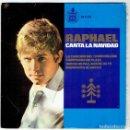 Discos de vinilo: RAPHAEL CANTA LA NAVIDAD. Lote 107660335