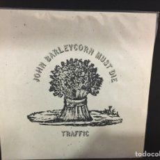 Discos de vinilo: TRAFFIC - JOHN BARLEYCORN MUST DIE - LP. Lote 107679368