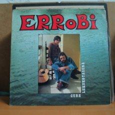 Discos de vinilo: ERROBI - GURE LEKUKOTASUNA - ELKAR ELK-27 - 1977 - (ELKAR BAIONA, PRIMERA EDICION, LABEL AMARILLO). Lote 107616755