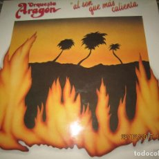 Discos de vinilo: ORQUESTA ARAGON - AL SON QUE MAS CALIENTA LP - ORIGINAL ESPAÑOL - MOVIEPLAY 1979 FUNDA INT. ORIGINAL. Lote 107712563