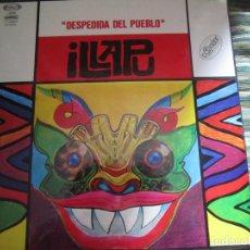 Discos de vinilo: ILLAPU - DESPEDIDA DEL PUEBLO LP - ORIGINAL ESPAÑOL - MOVIEPLAY 1978 - MUY NUEVO(5) GATEFOLD COVER -. Lote 107718163