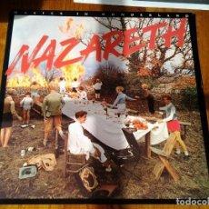 Discos de vinilo: NAZARETH -MALICE IN WONDERLAND- LP AM RECORDS 1980 ED. AMERICANA SP-4799. Lote 107719143