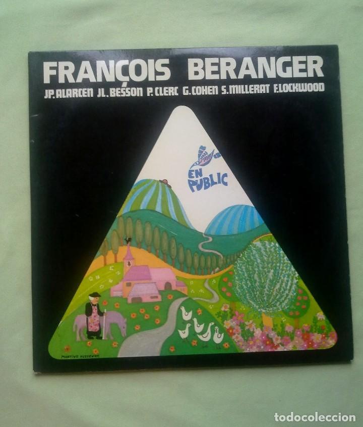 FRANCOIS BERANGER. (Música - Discos de Vinilo - Maxi Singles - Canción Francesa e Italiana)