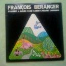 Discos de vinilo: FRANCOIS BERANGER.. Lote 107724343